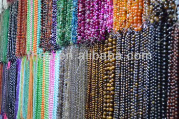 2013 Shiny and charming beads high quality cheap price natural stone for shower curtain alibaba express