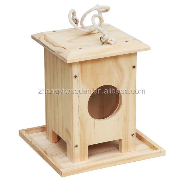 Garden decoration pet crafts hanging new arrive wooden bird house