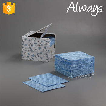 Japanese style disposable wave printing household wipes wiping OEM in China