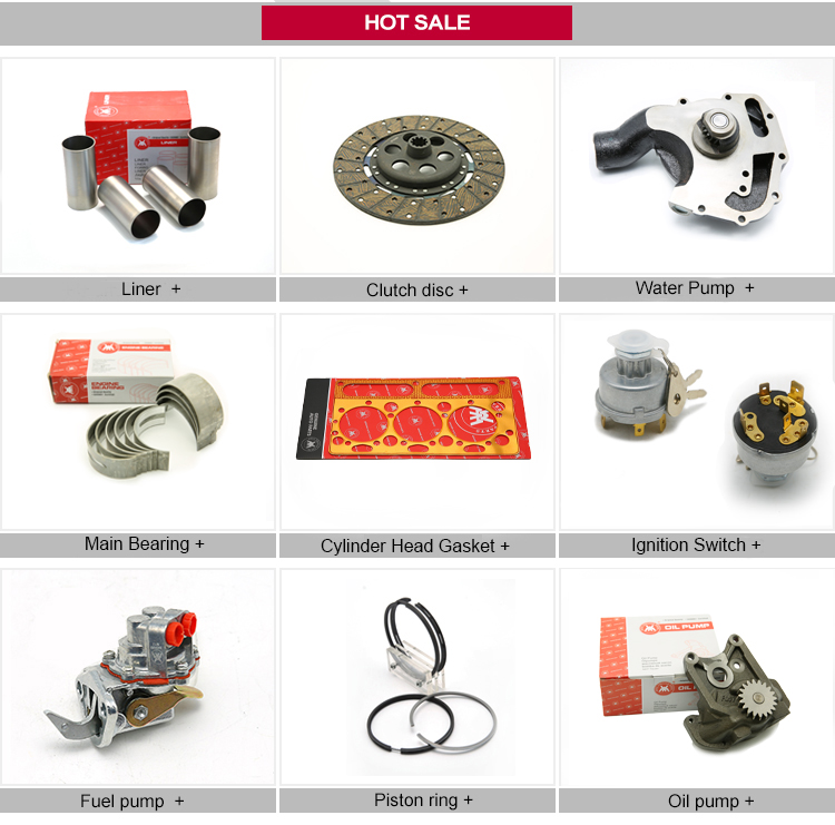 Weltake WMM brand Factory Supply Diesel engine Parts Engine Water Pump