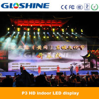 xxx video large video screen p3 indoor high quality led video wall