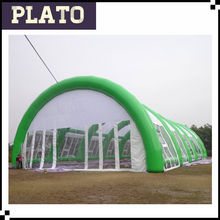 Large Green Inflatable Tent, inflatable garage tent,giant inflatable party tent
