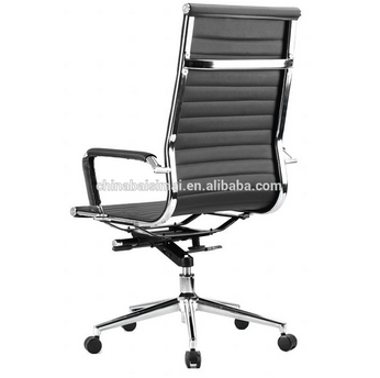 Best comfortable high back black leather office chair on sale