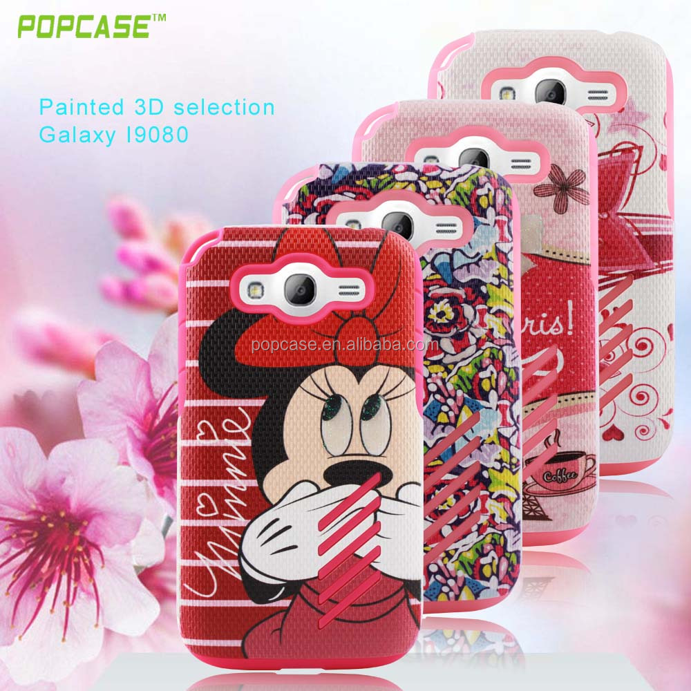 Factory price superior quality PC+TPU colorful OEM/ODM mobile protect case for Samsung i9080