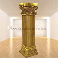 Frp Decoration Roman Column/pillar PU Roman Column /Home decor wedding columns wholesale