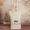 Foldable customized cotton handle canvas tote bag