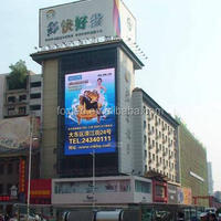 P10 high quality outdoor advertising 7 segment led display panel