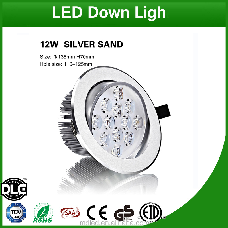 12W Ceiling Lighting SMD Dimmable Recessed LED <strong>Downlight</strong>