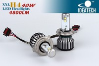 High power qulity factory direct high beam low beam car h4 led headlight bulbs kit for toyota innova