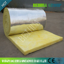 Fireproof Aluminum Foil Faced Glass wool / Glasswool Pipe Insualtion