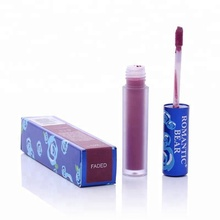 Not Easy to Fade 12 Color Velvet Matte Unicorn Private Label Lip Gloss