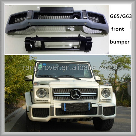 front bumper for G-class w463 G65/G63 AMG style front bumper body kit