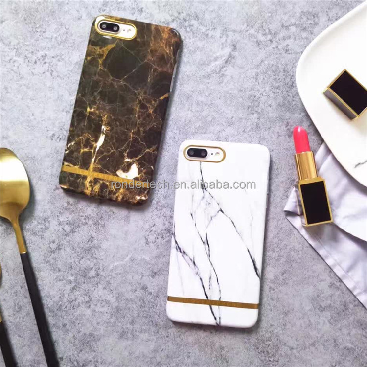 Hot Sale TPU Imd gold marble Case for iphone 6s 6plus, Purple Galaxy Marble Phone Case for Apple Iphone 7