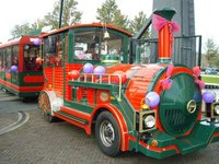Replica Locomotive for Fun Parc