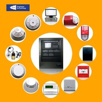 Fire Alarm FM200 Fire Detection Evacuation Control System