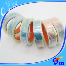 Free Sample and shipping Crystal Clear BOPP Packing Tape