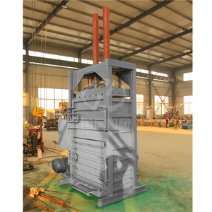 automatic vertical baler machine for used clothing