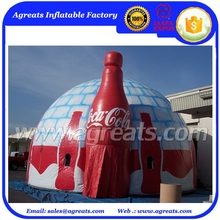 Advertising inflatable tent, customized inflatable air dome tent, inflatable marquee S1048