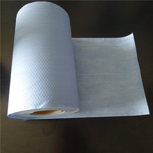 High quality CE certificated spunlace nonwoven blue industrial paper roll