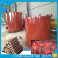 wood sawdust briquettes Carbonization stove/ machine make wood to charcoal