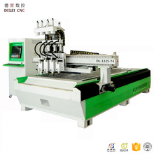 Multi Process ATC+ Row Drilling DL1325-T4 CNC Router for Wood, MDF Door &Cabinet Cutting, Drilling and Engraving