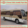 6720 Diesel and Gasoline Engine Small City Bus New Minibus For Sale