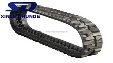 Excavator Rubber Belt Track Chain, Rubber Crawler