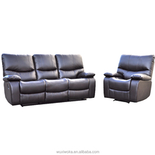 Modern style leisure function motion sofa leather recliner series for living room home office