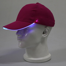 New style LED Light cap led cap custom led light baseball caps with own custom logo print or embroidery