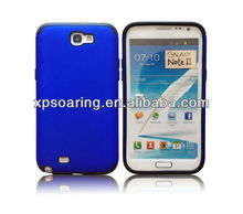 Mobile phone fusion case skin cover for Samsung galaxy Note II N7100