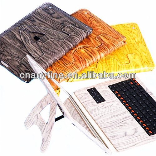 bluetooth keyboard leather case for ipad 2&3&4,new arrival!