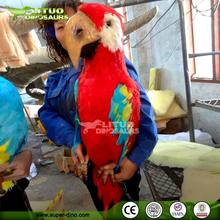 Amusement park Attractive Simulation Animatronic Animals Parrot