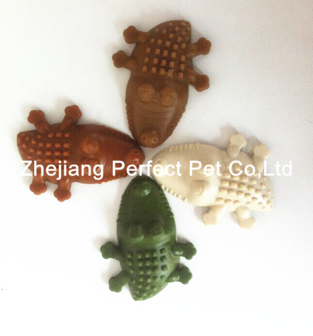 Healthy shaped crockodile dog food pet treats