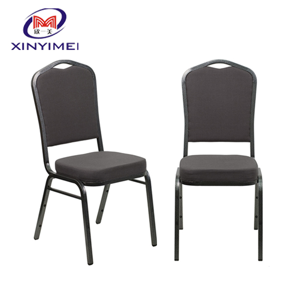 high quality and stackable cheap price black frame steel <strong>chair</strong> used in meeting room