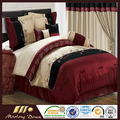 American classic country style 100% cotton bedding set 7 pcs home design