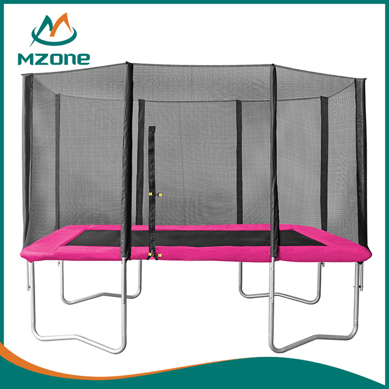 Mzone square trampoline outdoor gymnastics equipment