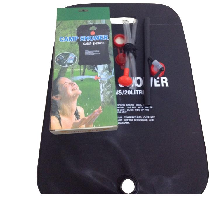 rechargeable shower shower solar water bladder