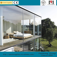 Decorative Glass House/Aluminum Sunrooms /Winter Garden from China GM-ZS003