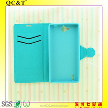 New fashion TPU stitching leather case For Huawei G740