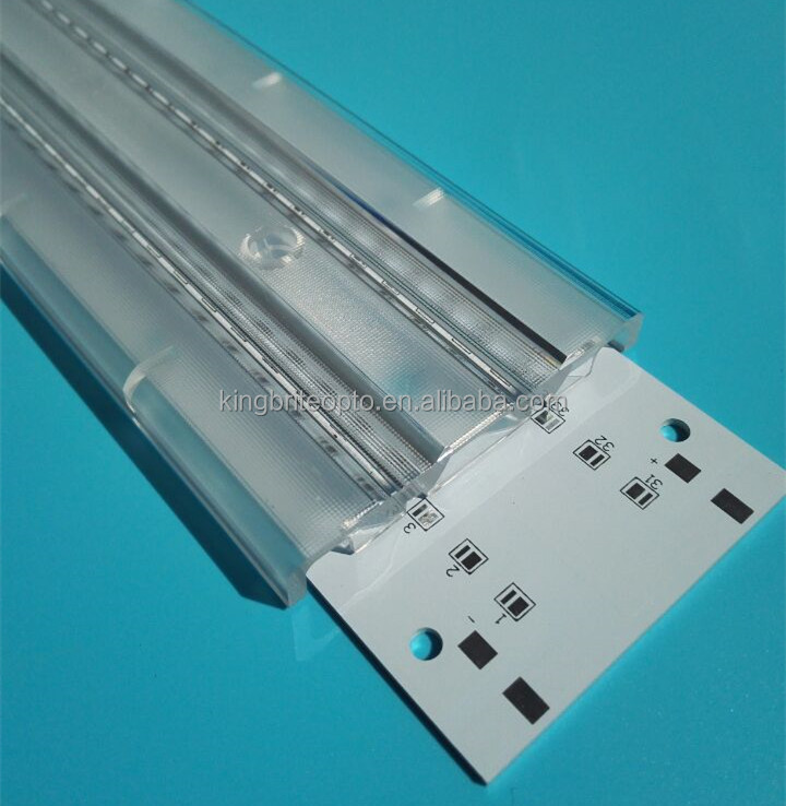 double lines led linear lens for smd 3030 5630 led