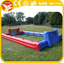 2017 inflatable football pitch for sports competition
