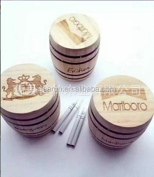 Oak Material Wood Type Mini Barrel Type Coffee Bean Storage Boxes, Wooden Wine Barrels boxes crates