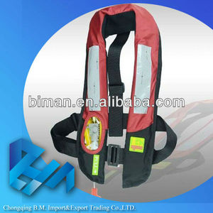 OEM automatic inflation ES639717 child inflatable water swim vest life jacket