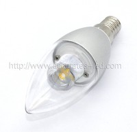 LED candle light e14 cob 3W 9 volt battery holder