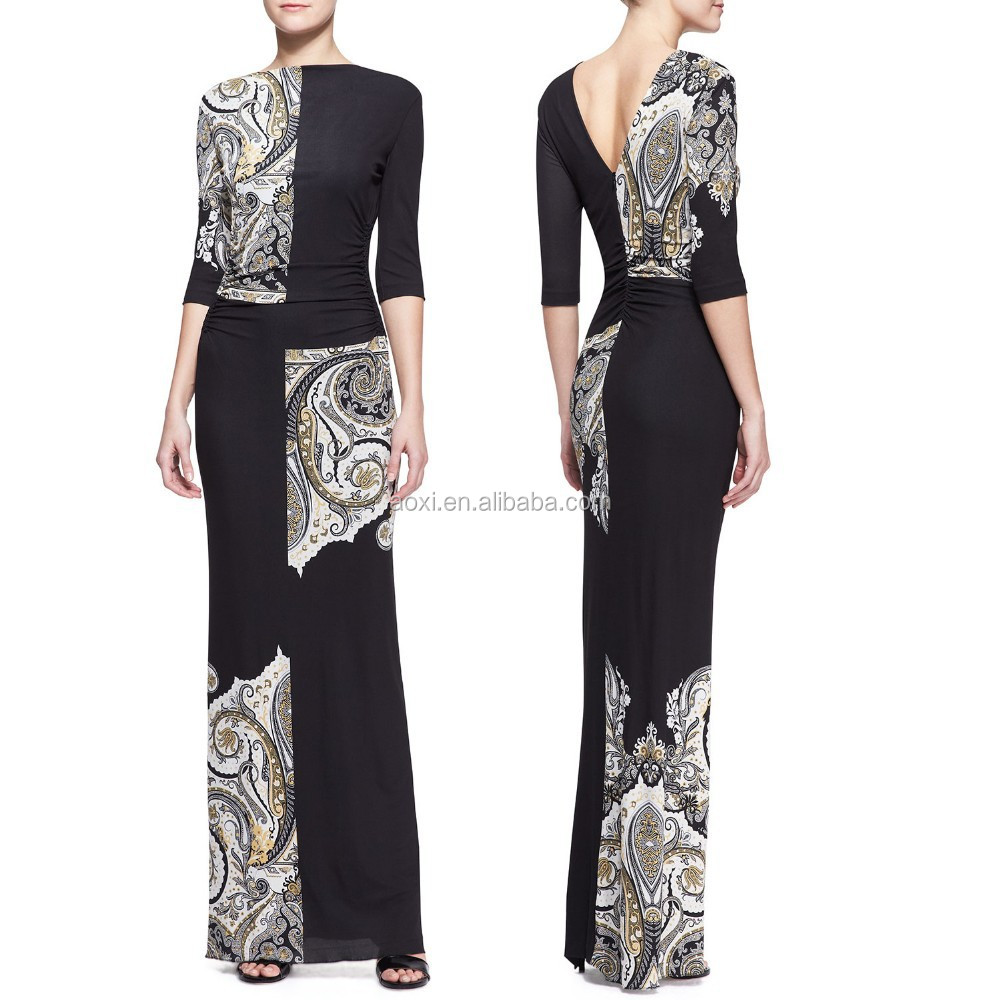 latest-gown-designs long women evening dresses from dubai