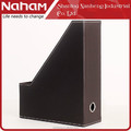 NAHAM Office table leather desktop file Rack holder