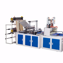 New cold cutting high speed automatic computer control low price strong plastic shopping bag making machine