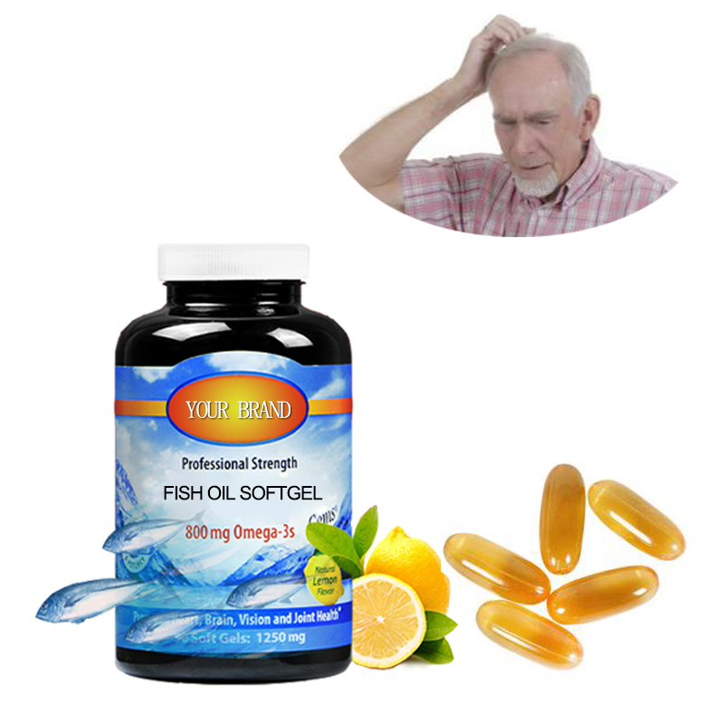 Improve memory Omega 3 softgel OEM