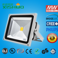High lumen bridgelux waterproof ip65 outdoor 30w led flood light UL DLC CE RoHS 5 years warranty Dimmable Sensor