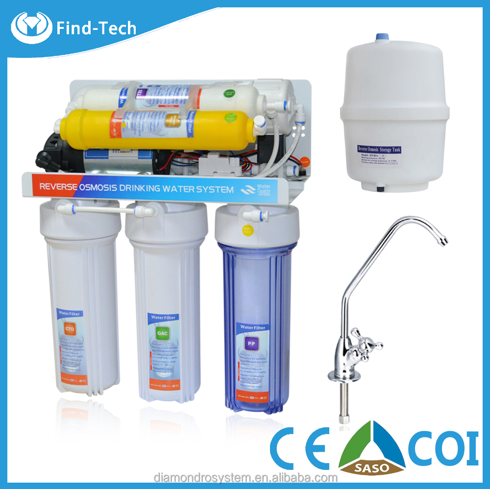 Hot sale 7 stage ro water filter/reverse osmosis water system purifier with UV